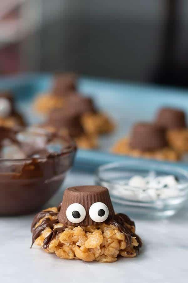 Spider Cookies Halloween Treats