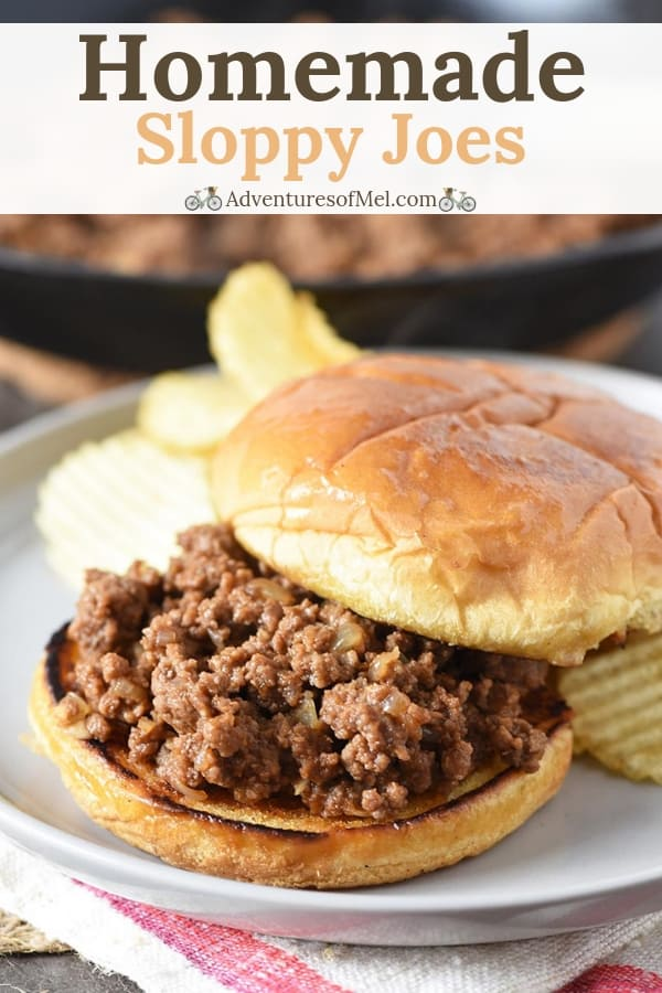 easy homemade sloppy joes or juicy burger recipe