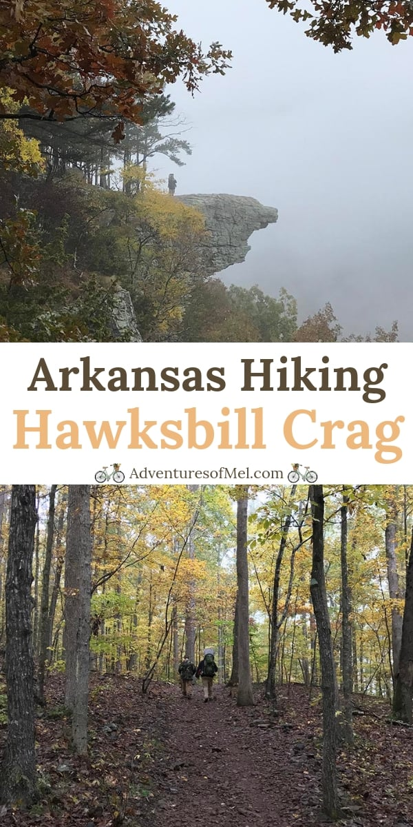 Arkansas Hiking Hawksbill Crag in the Natural State