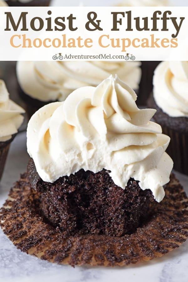 deliciously moist chocolate cupcakes recipe