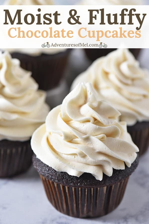 fluffy chocolate cupcakes recipe