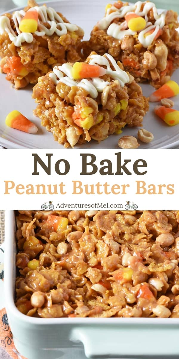 No Bake Peanut Butter Bars recipe