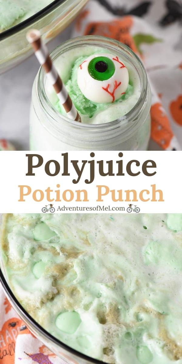Polyjuice Potion Lime Sherbet Punch Recipe