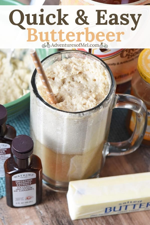 quick and easy homemade butterbeer recipe from Harry Potter series