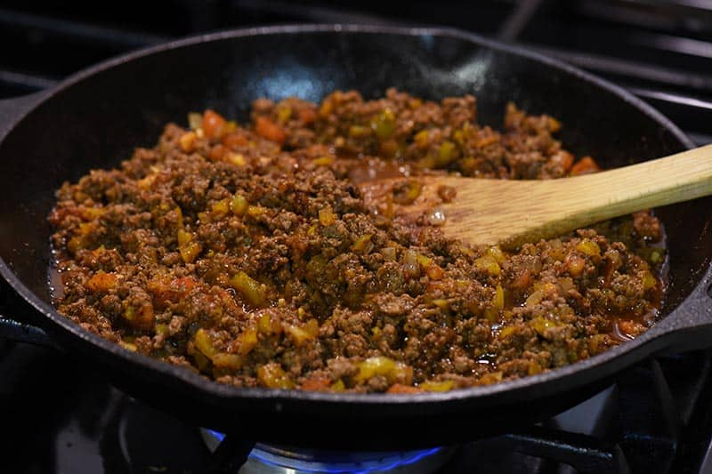 taco meat for homemade sloppy joes