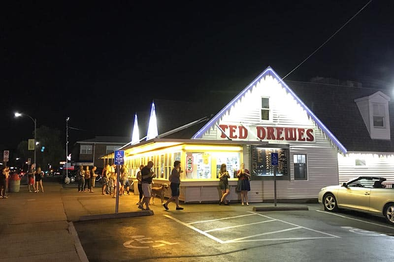 St. Louis foods include Ted Drewes Frozen Custard