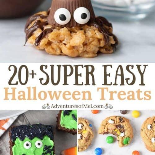super easy Halloween Treats recipes