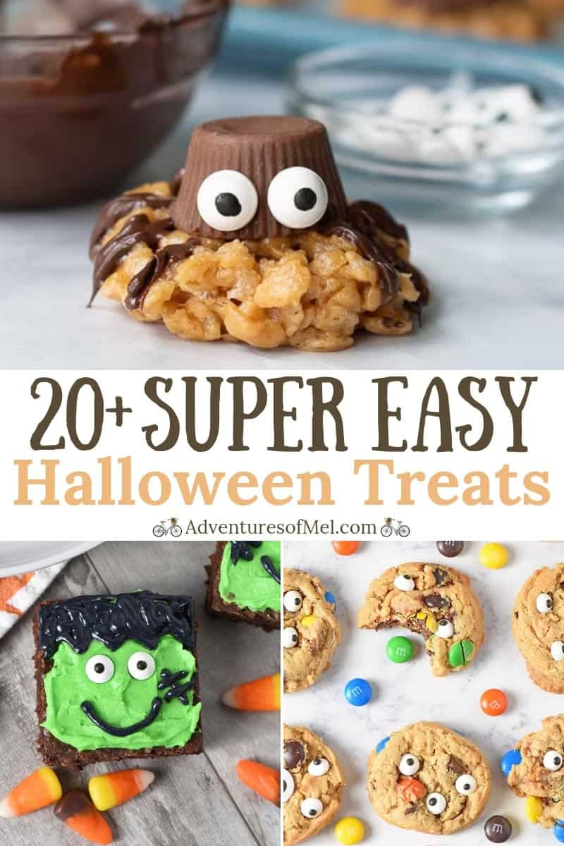 super easy Halloween Treats recipes