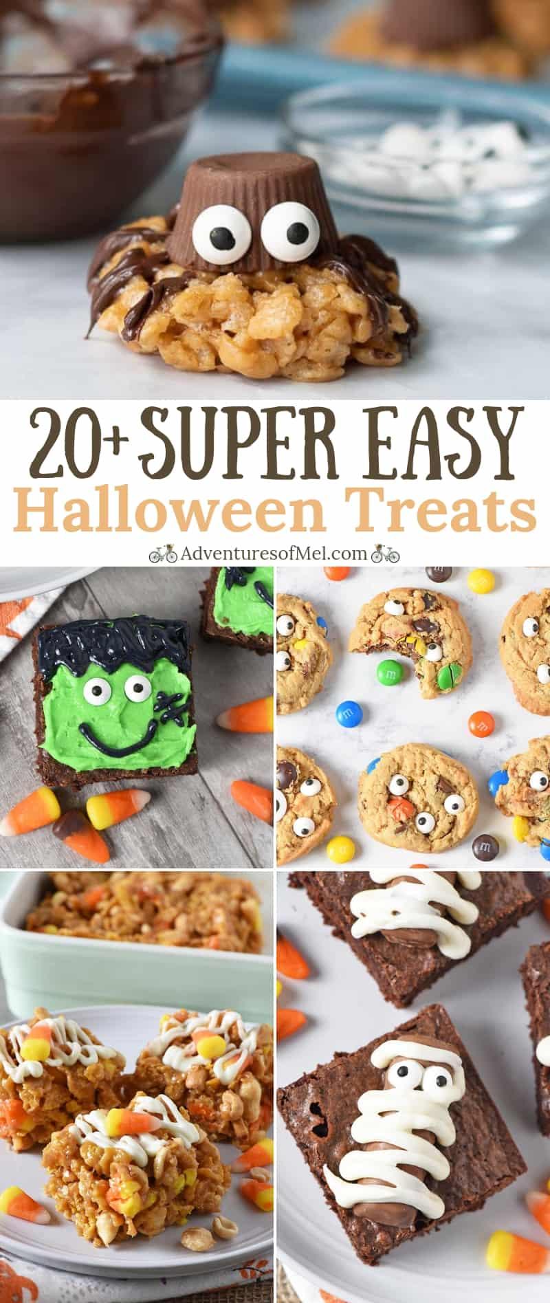 super easy halloween treats recipes anyone can make