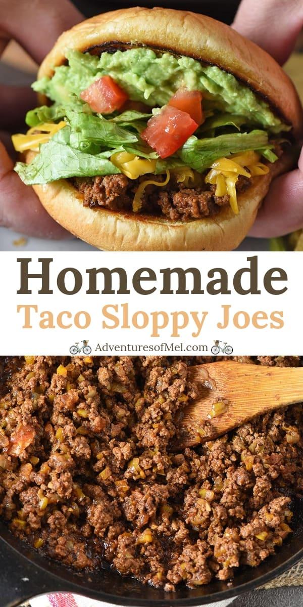 Easy Homemade Taco Sloppy Joes Recipe