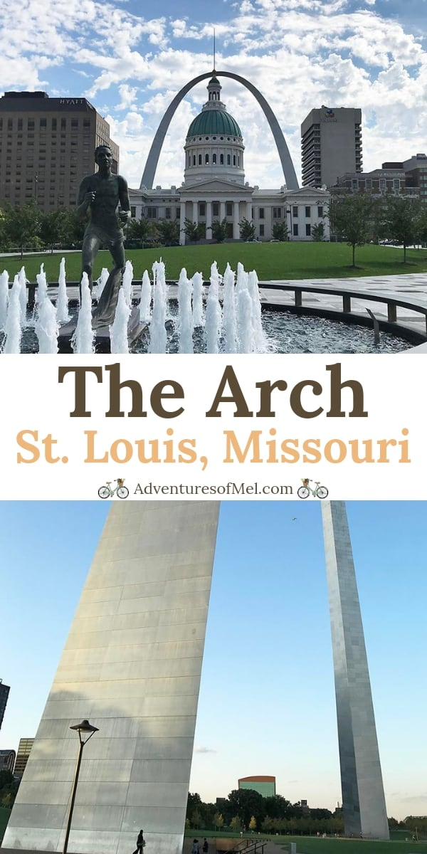 What it's like to visit the Arch in St. Louis, Missouri