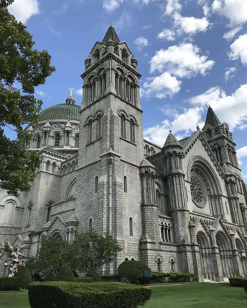 things to do in St. Louis include visiting the Cathedral Basilica of Saint Louis