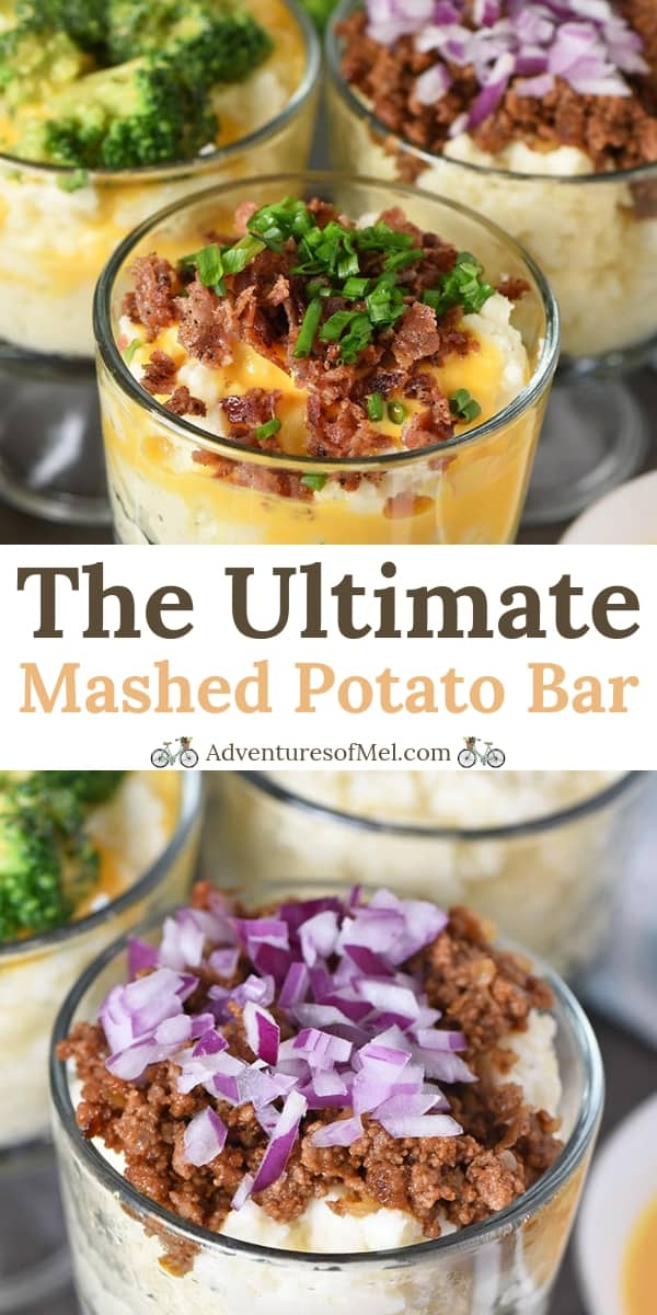 the ultimate mashed potato bar recipe and how-to