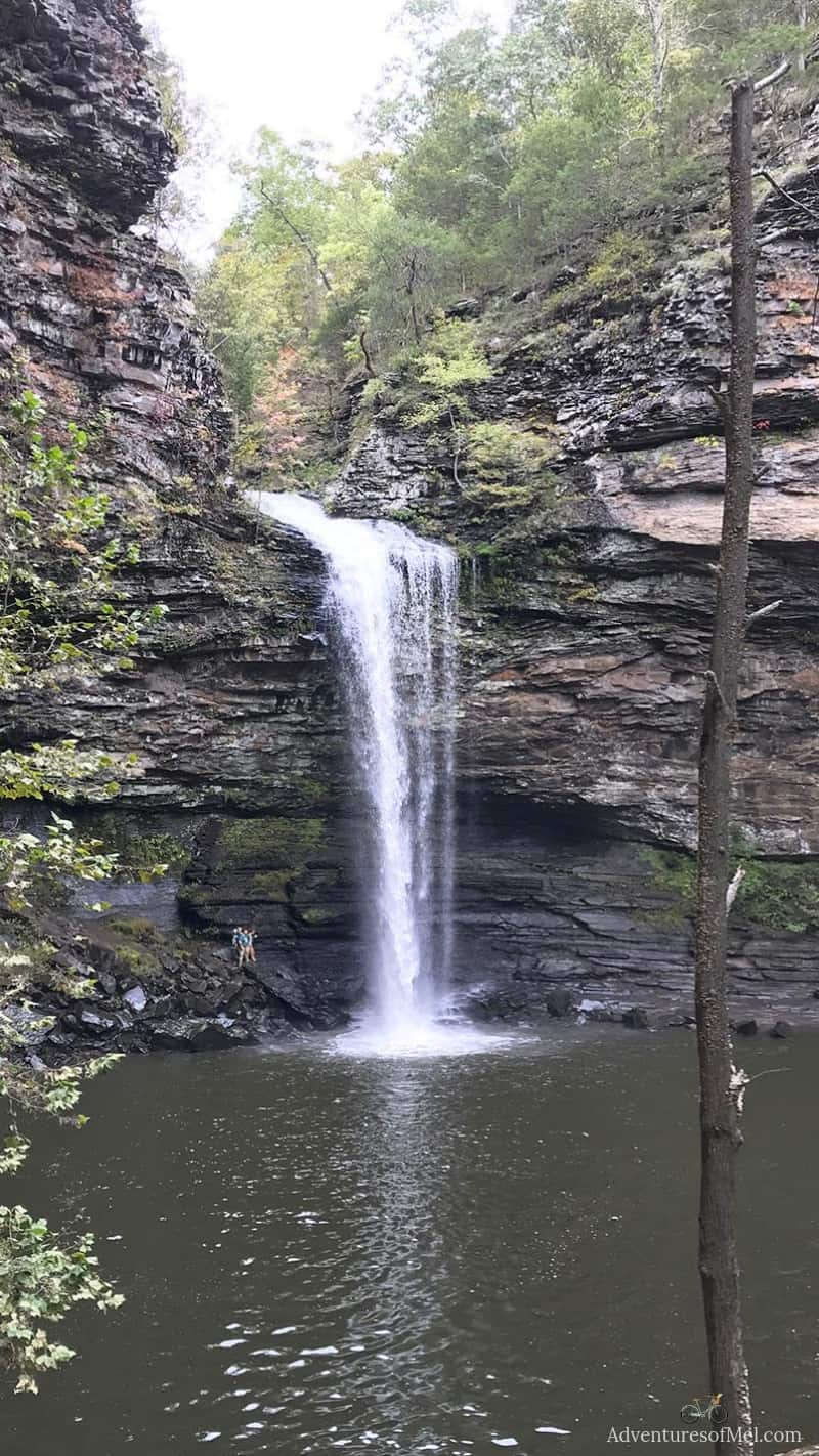 Cedar Falls at Petit Jean State Park in the Natural State