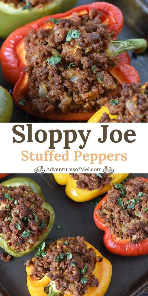 Sloppy Joe Stuffed Peppers Recipe