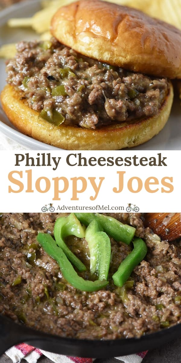 Philly Cheesesteak Sloppy Joes Recipe