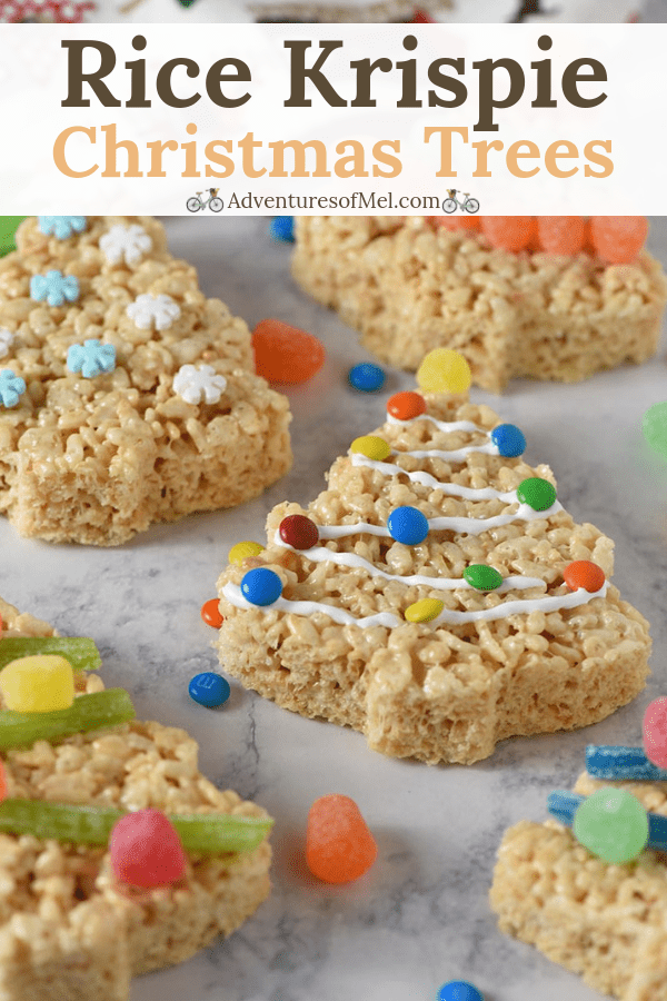 Recipe for Christmas tree Rice Krispie Treats