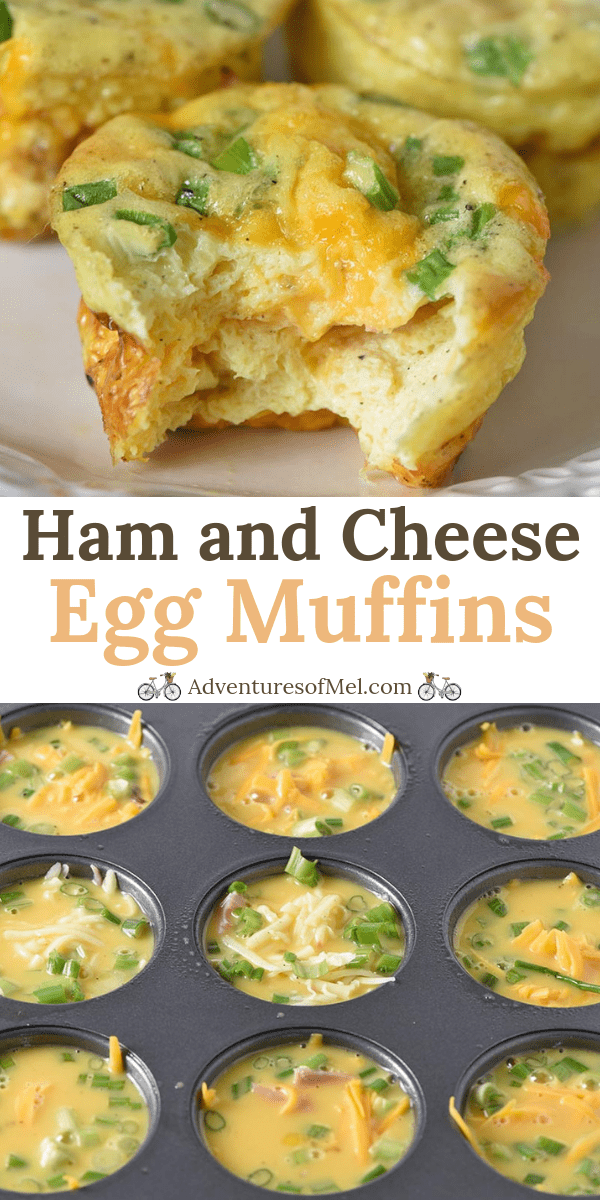 ham and cheese egg muffins recipe