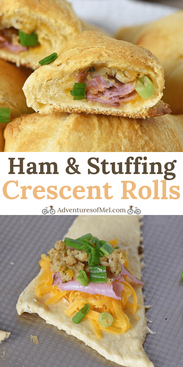Leftover Ham and Stuffing Crescent Rolls Recipe