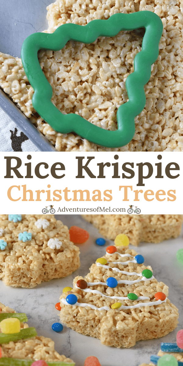 Christmas Tree Rice Krispie Treats Recipe