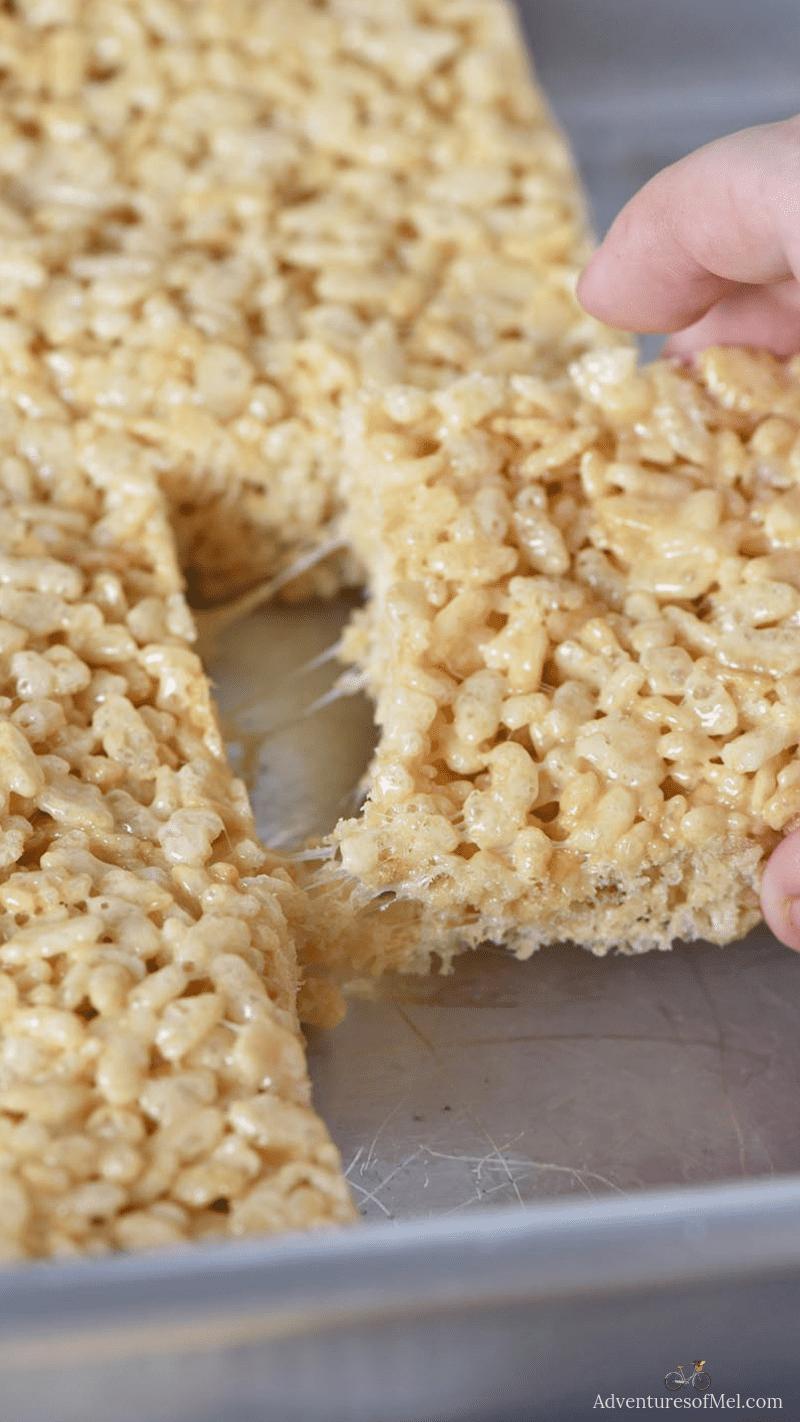 easy Rice Krispie treats