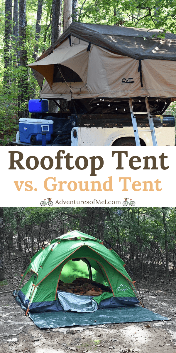 Roof Top Tent vs. Ground Tent: The Inside Scoop