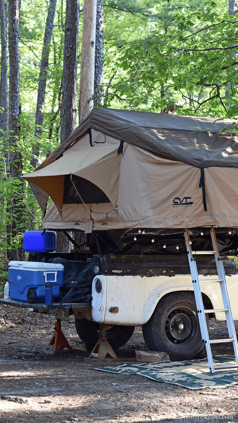 decide between a rooftop tent or traditional camping tent