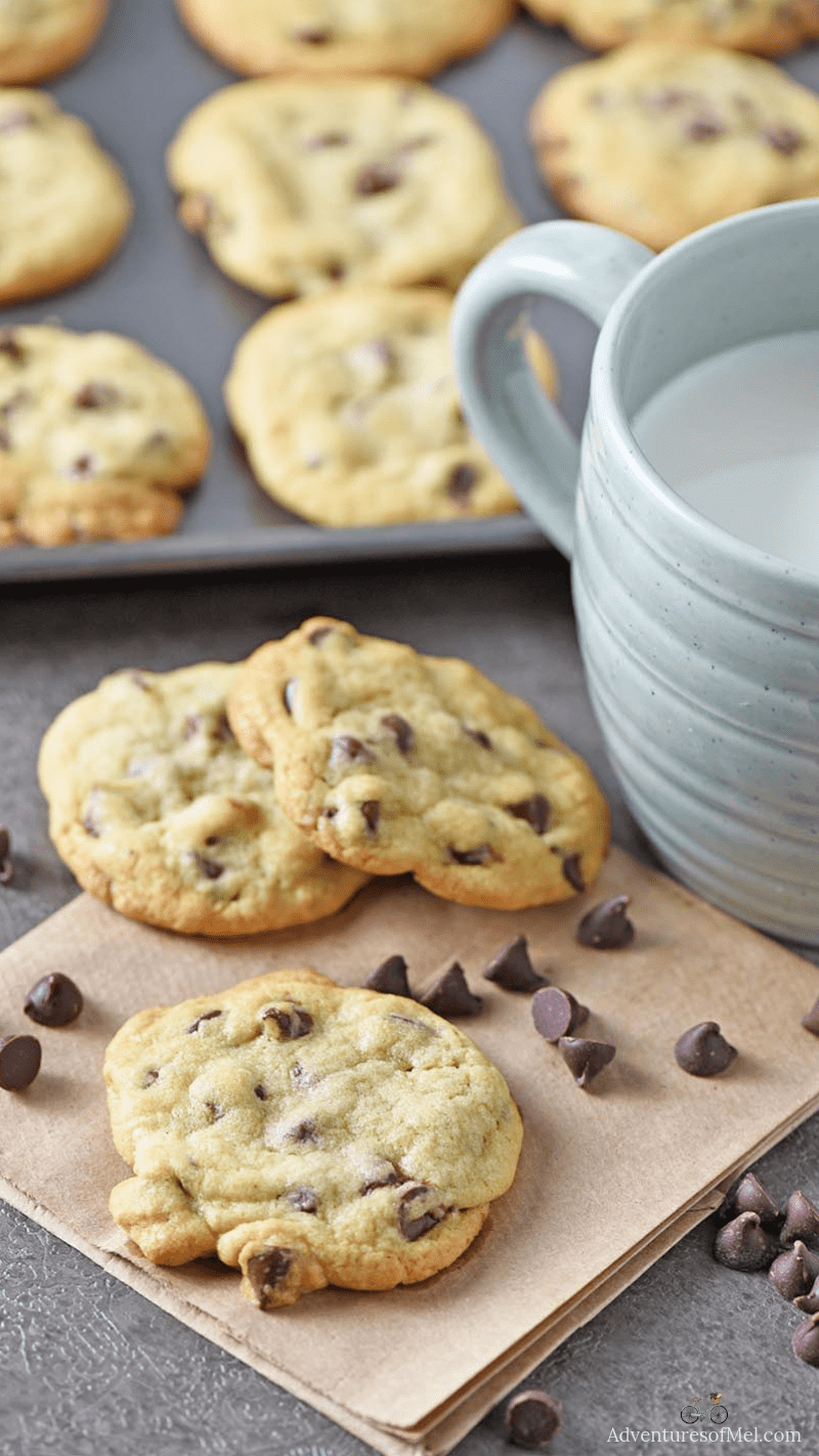chewy chocolate chip cookies recipe