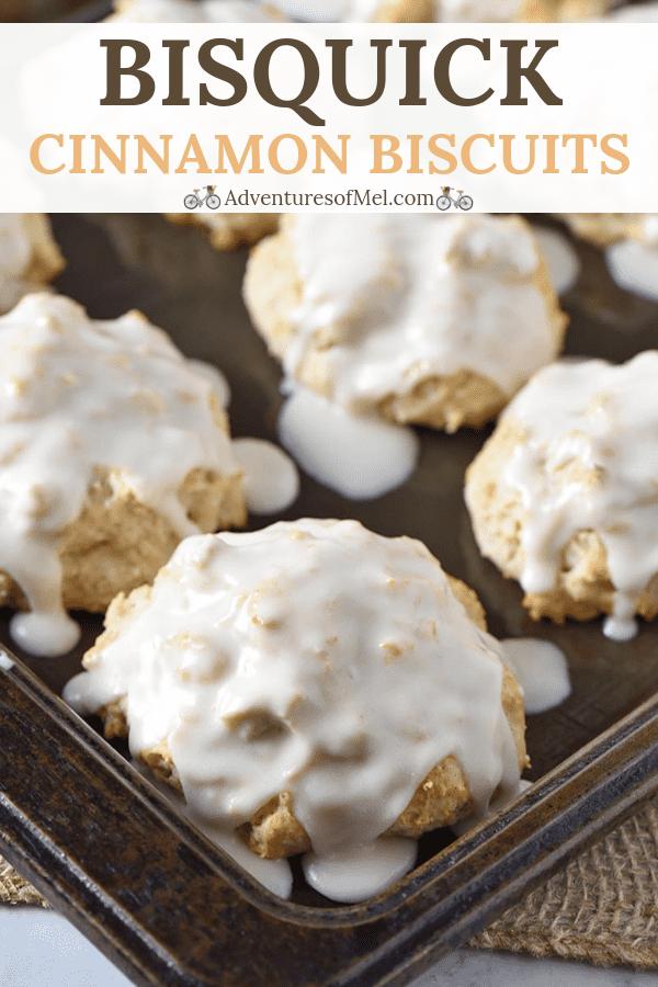 Bisquick cinnamon biscuits recipe