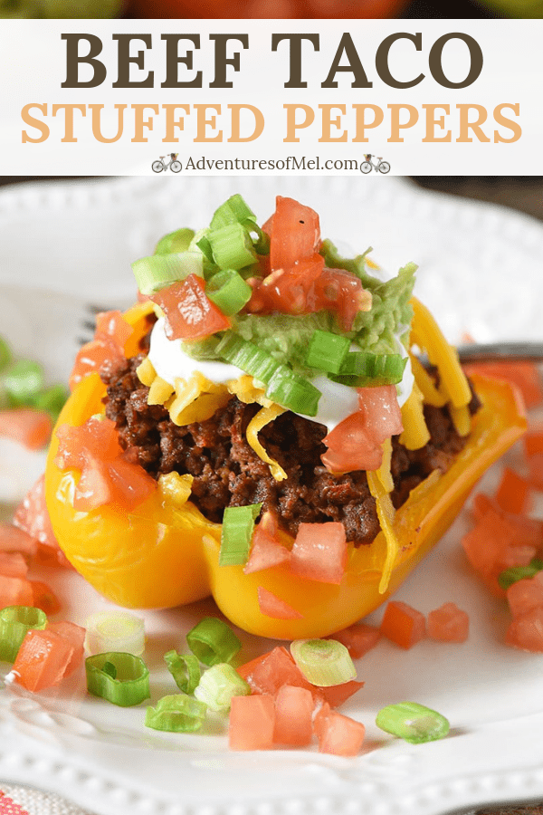ground beef taco stuffed peppers recipe