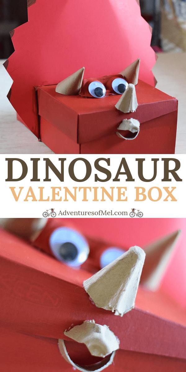 Dinosaur Valentine Box Shoebox Craft