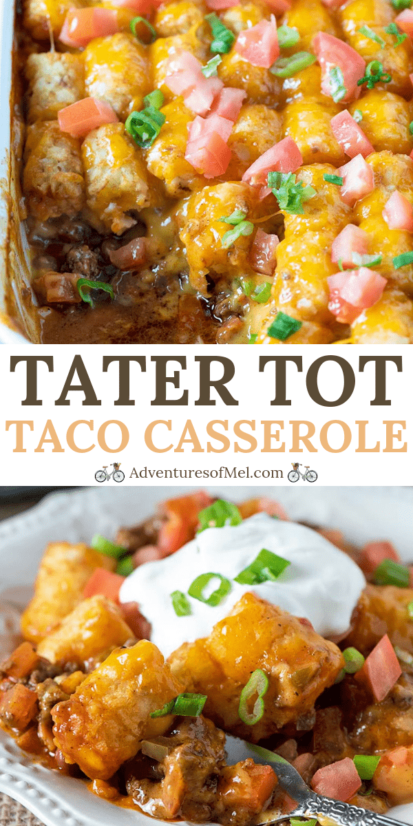 taco tater tot casserole recipe