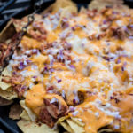 Ultimate Loaded Campfire Nachos with Chicken