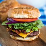 Ultimate Campfire Bacon Cheeseburger
