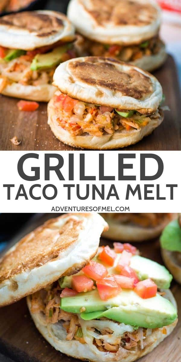 Quick and Easy Grilled Taco Tuna Melt Recipe