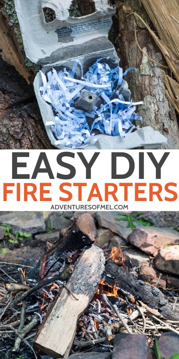 how to make easy homemade fire starters that work like a charm