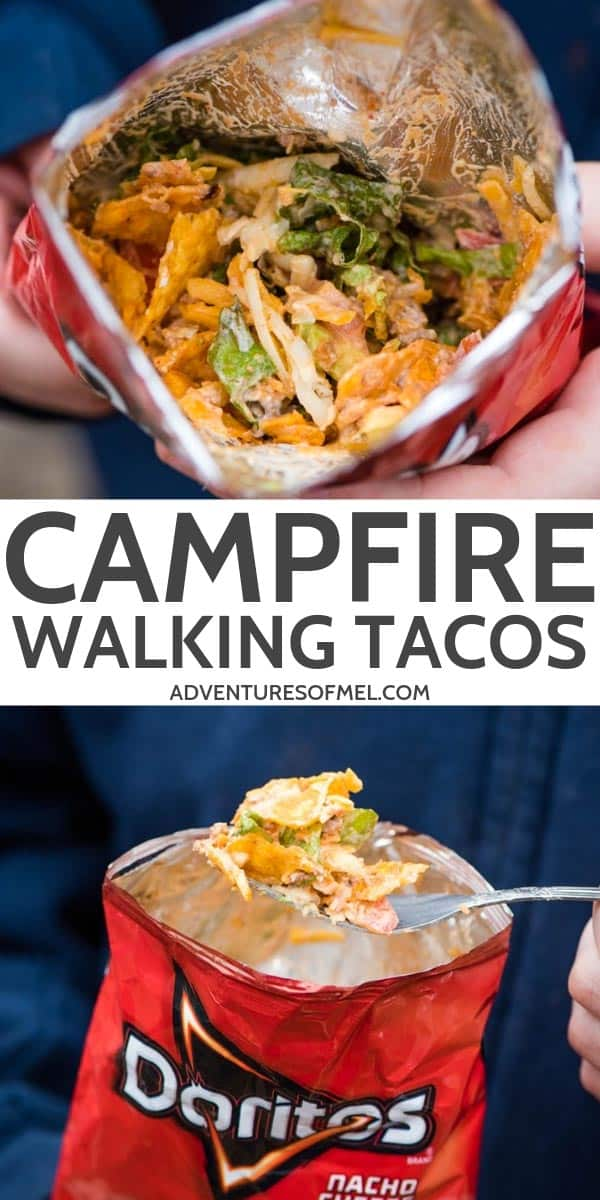Campfire walking taco recipe