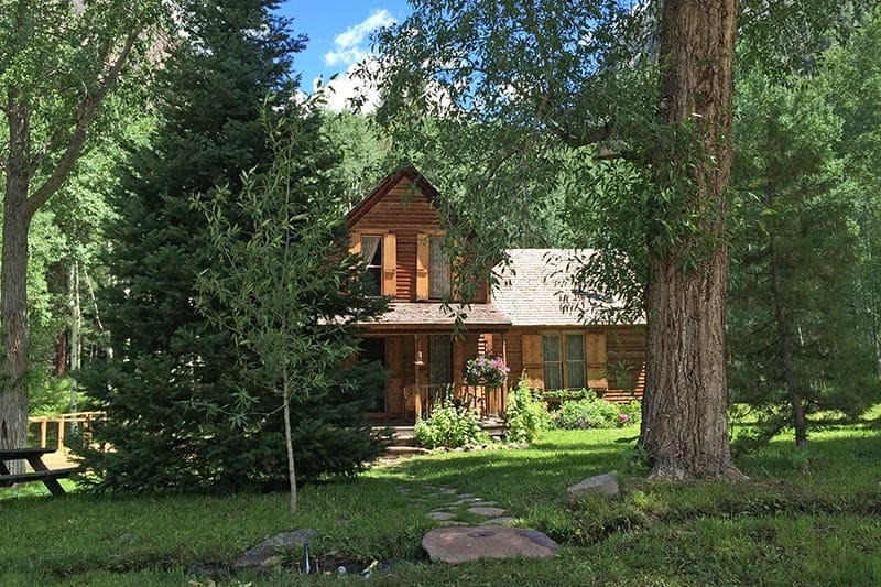 cabin home in Crystal, Colorado