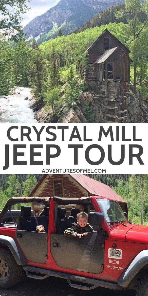 Crystal Mill Jeep Tour in Colorado