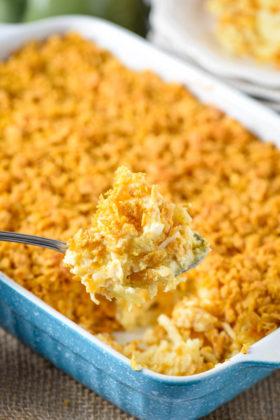 Easy Cheesy Hash Brown Casserole Recipe