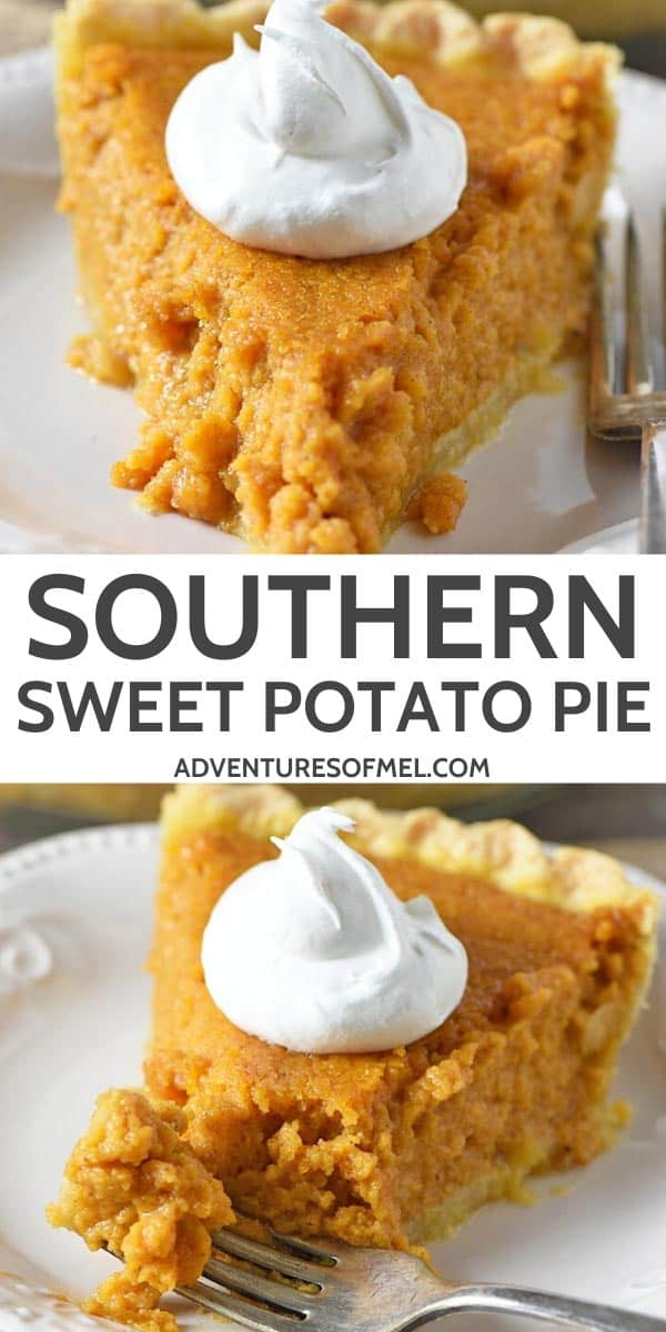 how to make southern sweet potato pie recipe