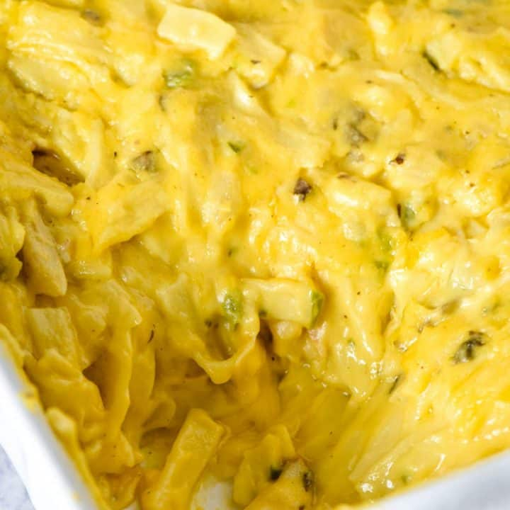 Cheesy Leftover Turkey Casserole with Pasta