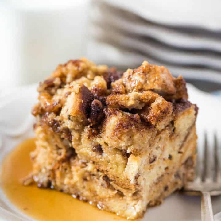 Easy Crock Pot French Toast Casserole