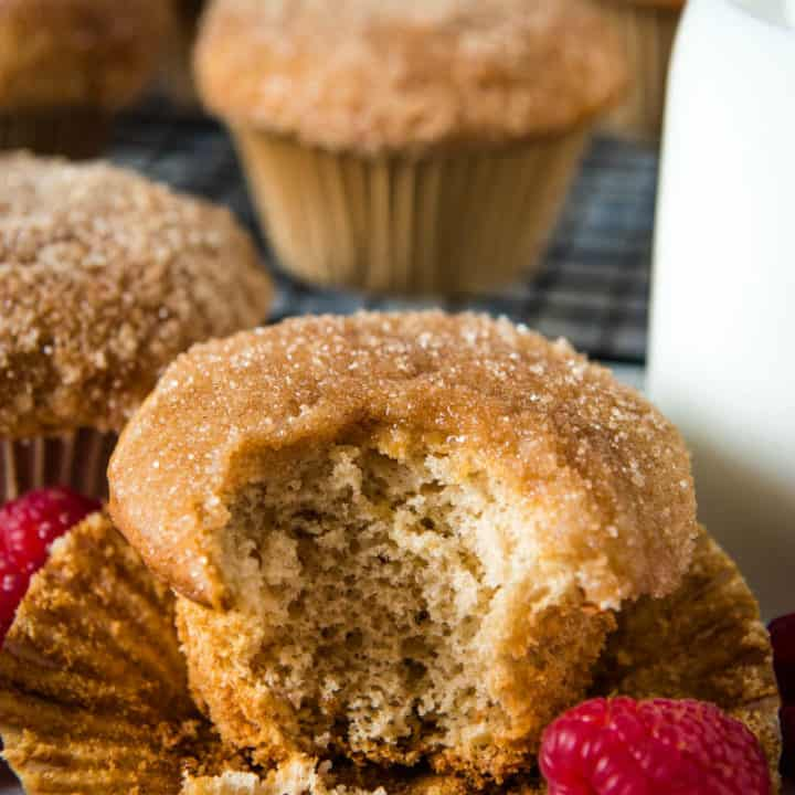 Melt-in-Your-Mouth Bisquick Cinnamon Muffins