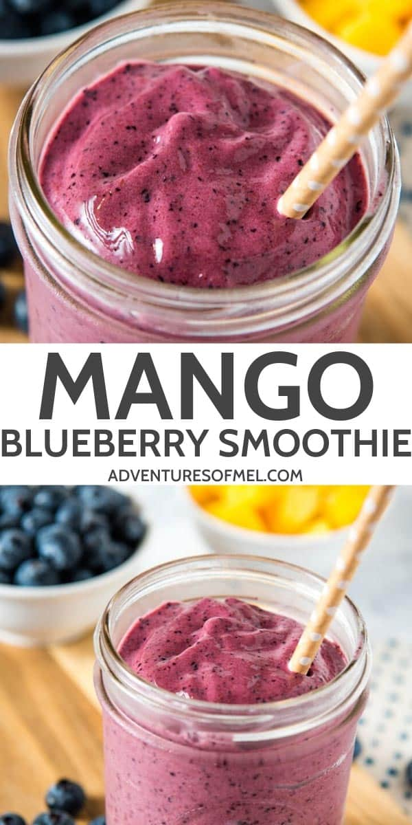 mango blueberry smoothie recipe