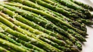 Easy Garlic Parmesan Asparagus
