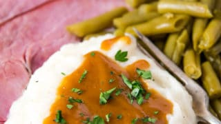 How to Make Ham Gravy with Cornstarch