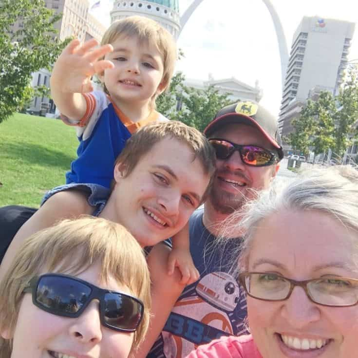 Visit the Arch in St. Louis, Missouri