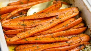 Easy Roasted Carrots with Dill
