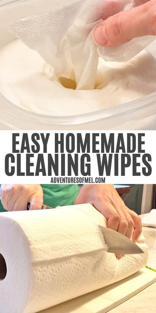 easy homemade cleaning wipes recipe and how-to
